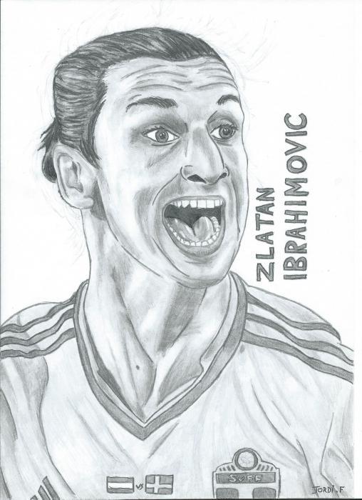 Zlatan Ibrahimovic by waticity
